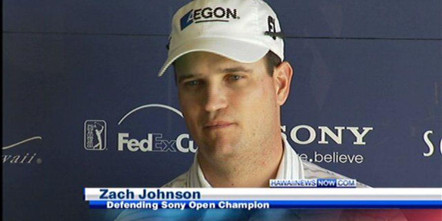 Former Sony Open winner Zach Johnson wins the British Open ...
