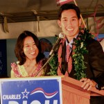 Charles Djou and his wife Stacey