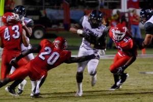 Alex Green runs for a 38 yard touchdown.