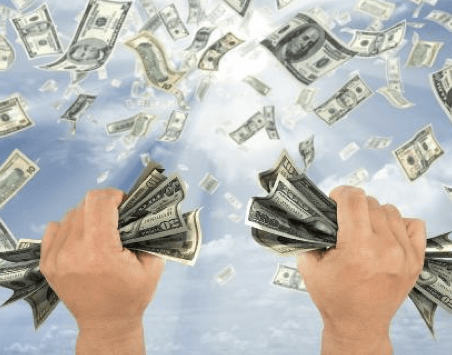 Image result for money grab