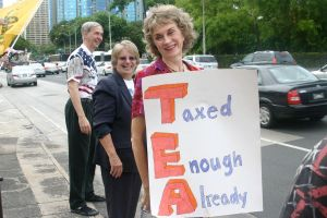 TEA Party in Honolulu - Taxed Enough Already