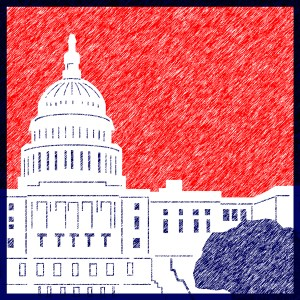 U.S. Capitol - Illustration by Emily Metcalf