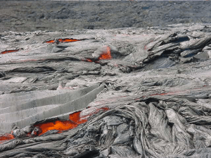 Lava field on Hawaii Island  - Photo by Chuck Denny