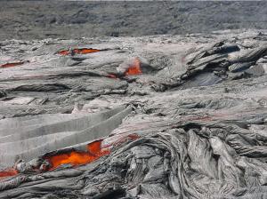 Lava field on Hawaii Island  - Photo by Chuck Denny