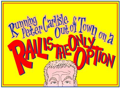 Honolulu rail cartoon, Honolulu Mayor Peter Carlisle cartoon