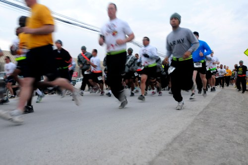 25th CAB hosts Zombie 5k fun run