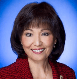 Senate Vice President Donna Mercado Kim
