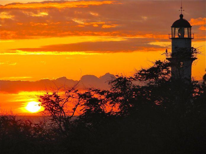 Sunset at Diamond Head
