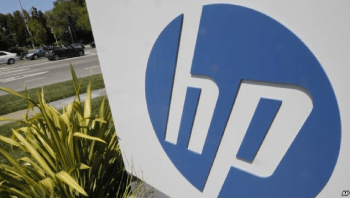 FILE-This Tuesday, Aug. 21, 2012, file photo, shows an exterior view of Hewlett Packard Co.'s headquarters in Palo Alto, California. FILE-This Tuesday, Aug. 21, 2012, file photo, shows an exterior view of Hewlett Packard Co.'s headquarters in Palo Alto, California.