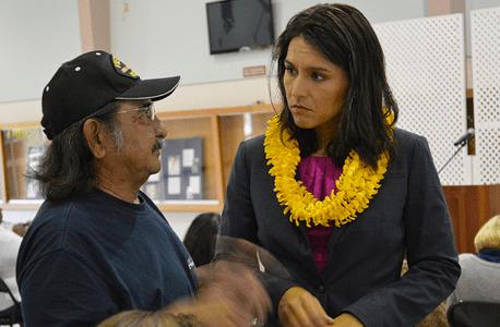 Congresswoman Gabbard on her listening tour with veterans