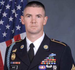 Staff Sergeant Adam White, Scout Team Leader, Headquarters and Headquarters Company, 1-501 Infantry (Airborne), 4th Brigade 25th Infantry Division, Fort Richardson, Alaska