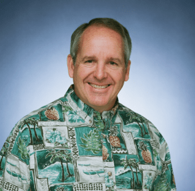 W. David P. Carey III, president and chief executive officer of Outrigger Enterprises Group