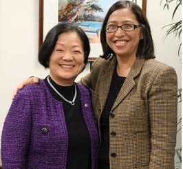 Senator Mazie K. Hirono voted today to confirm Hawaii's Esther Kiaaina as Assistant Secretary for Insular Areas at the U.S. Department of the Interior (DOI)