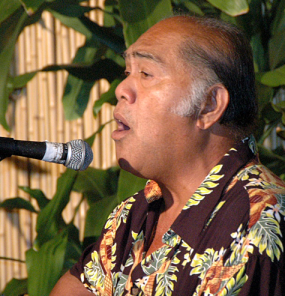 acclaimed vocalist Martin Pahinui, son of the legendary Gabby Pahinui.
