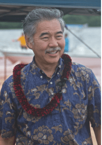 Hawaii Senator David Ige may make history Saturday