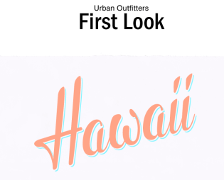 Urban outfitters Hawaii