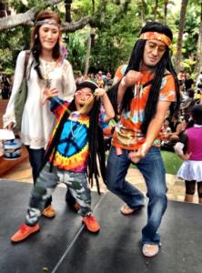 Halloween costume contest at Royal Hawaiian Center