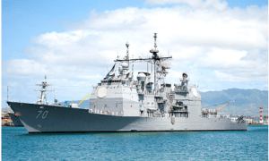 PEARL HARBOR, Hawaii - The guided-missile cruiser USS Lake Erie (CG 70) will depart Hawaii for a new homeport in San Diego.