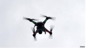 VOA FILE- A camera drone.