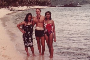 On the Beach in Samoa