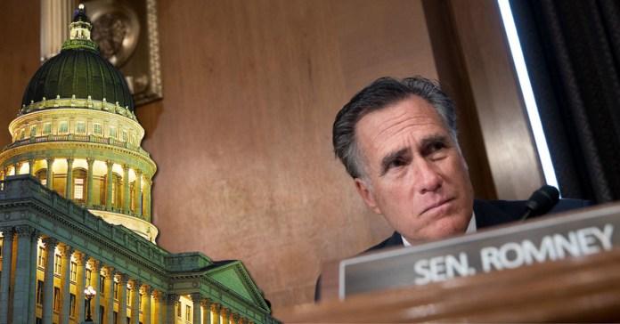 Utah and Mitt Romney