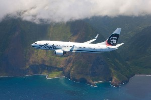 Alaska Air in the skies over Hawaii. Courtesy photo.