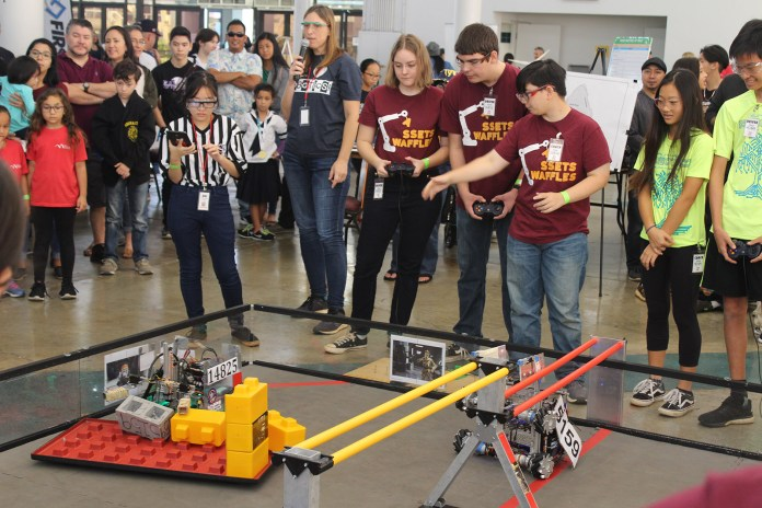 Assets School robotics team takes second in statewide finals