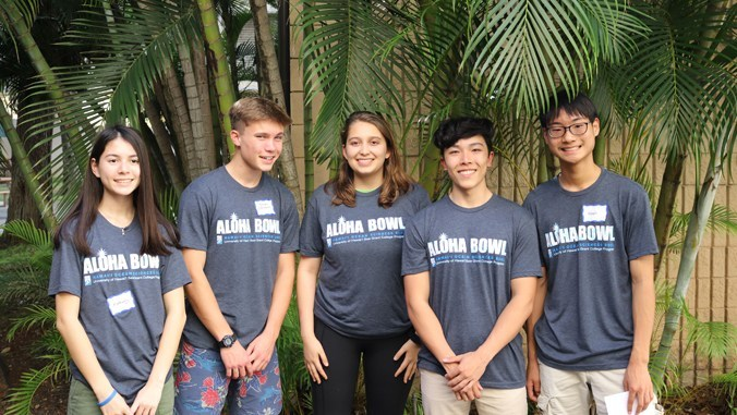 Students' ocean science savvy showcased at Aloha Bowl