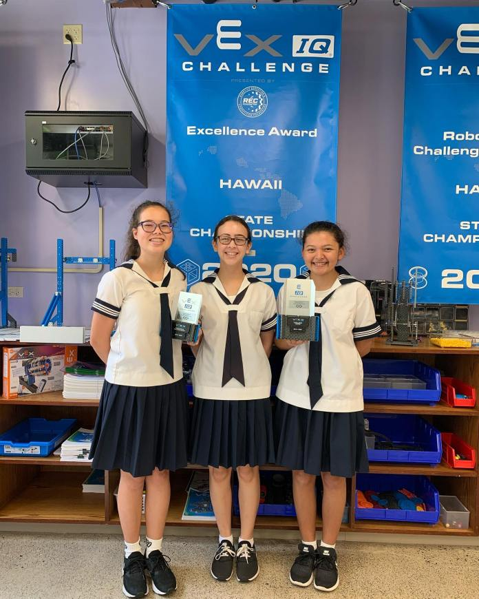 Sacred Hearts Academy, Saint Louis Schools take top VEX IQ Robotics awards