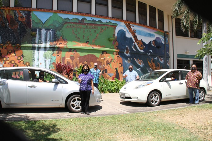 Native Hawaiian college program receives electric vehicles for training
