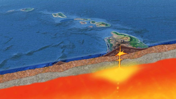 New research pushes formation of Hawaiian Islands back to 100 million years