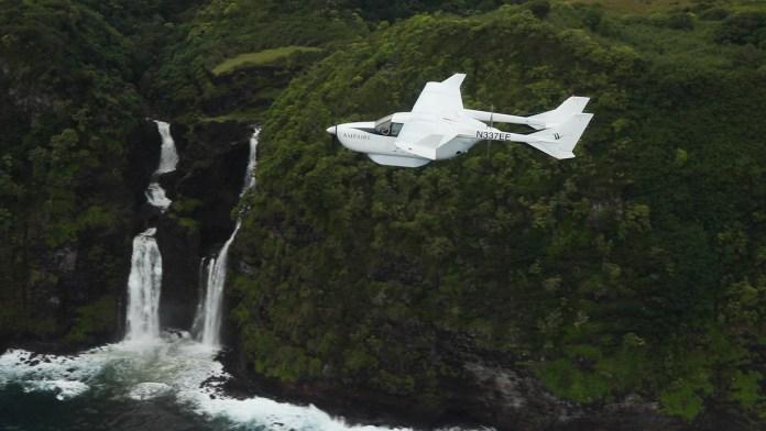 Hybrid electric aircraft runs first flight trials over Hawaii: VIDEO