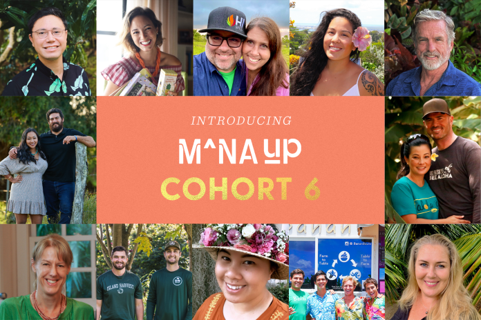 Mana Up announces sixth cohort of 'rising local businesses'