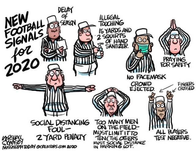 Cartoon for July 31