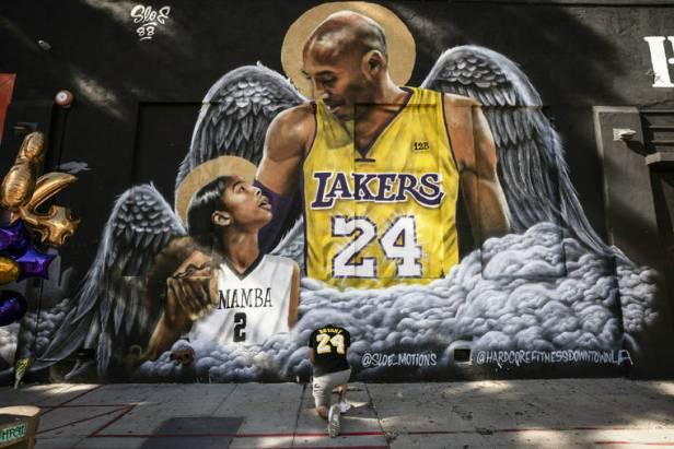 A man, a myth, a legend: Kobe Bryant's presence still looms large one year later