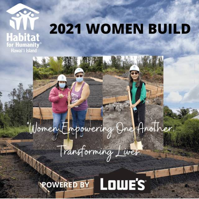 2021 Habitat for Humanity virtual Women Build a success