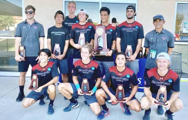 Vulcans men's tennis team sees NCAA run end in semifinals