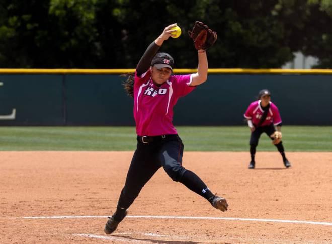UHH softball rolls in regional opener