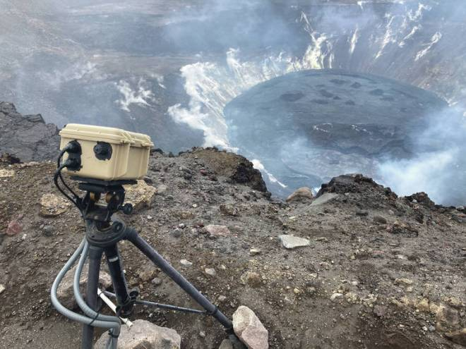 Volcano Watch: How are lava levels and volumes measured at the Kilauea summit lava lake?