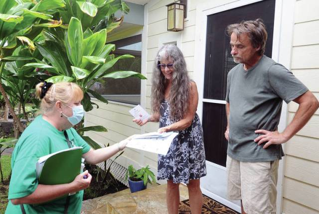 DOH vaccination outreach effort hits Kona neighborhoods