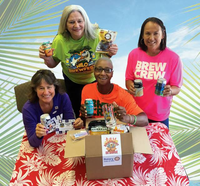 """Rotary Club of Hilo presents """"Brewfest-in-a-Box"""" – a virtual event"""