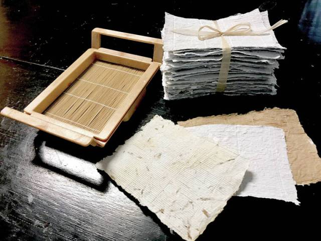 Learn papermaking techniques at Volcano Art Center