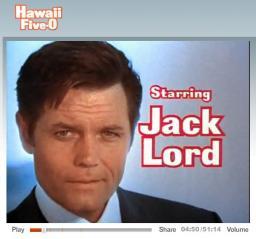 Hawaii Five-O with Jack Lord