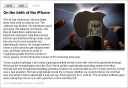 Steve Jobs Interview in Fortune Magazine
