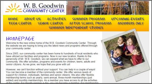 W.B. Goodwin Community Center