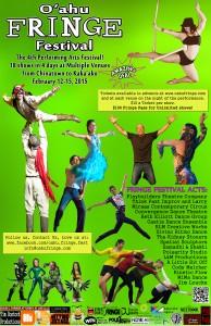 Oahu Fringe Festival 2015 Poster
