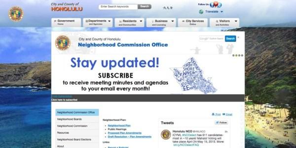 NCO Website