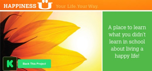 Happiness U Online Classes Kickstarter