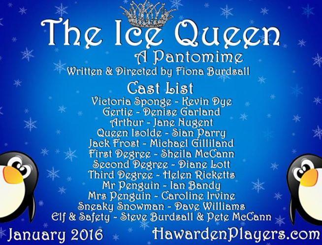 Ice Queen Cast