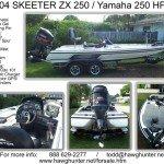 2004 Skeeter ZX250